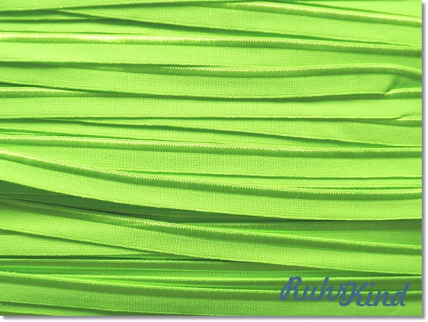 Elastisches Paspelband Lime