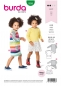 Preview: Burda kids Schnittmuster Jerseykleid 9296