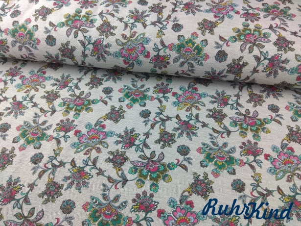 0,5m Sommersweat Completley Paisley