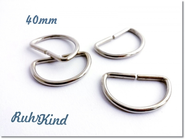 4 x D-Ring 40mm XL